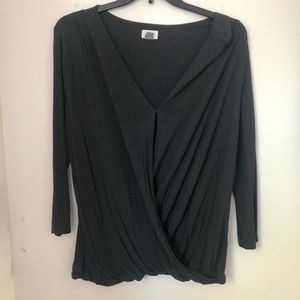 Grey Old Navy top XXL